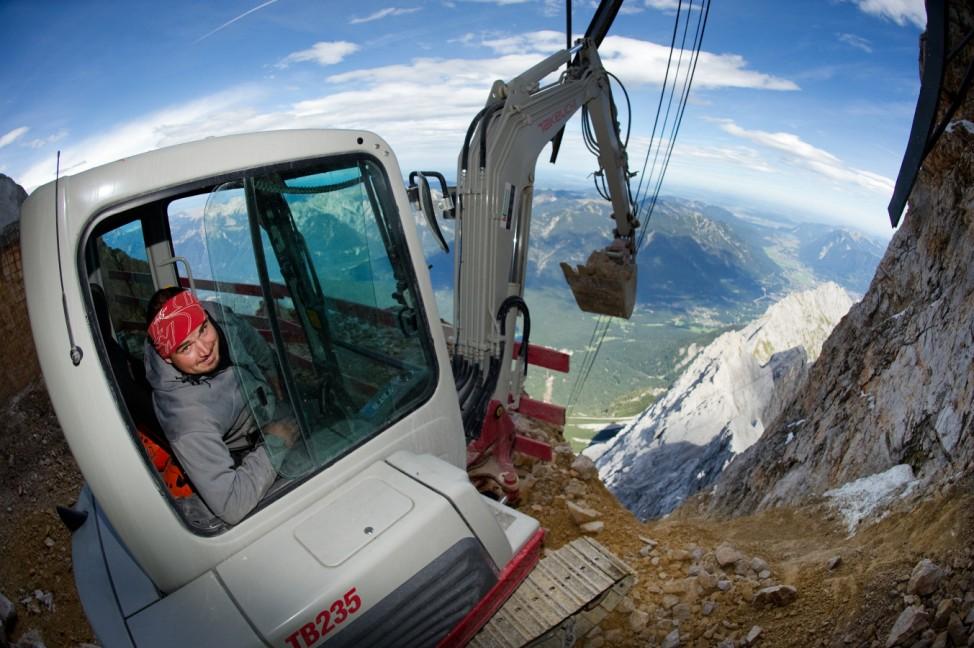 Arbeiten in 3000 Metern Höhe