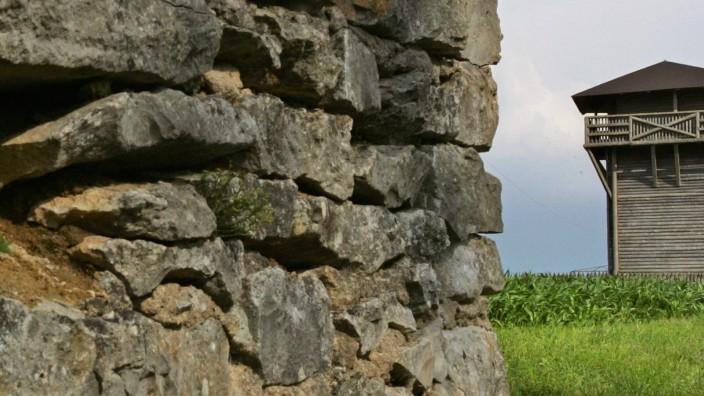 Limes von UNESCO zum Weltkulturerbe erklärt, 2005
