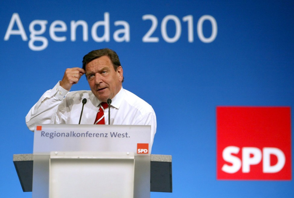 Agenda 2010 - Gerhard Schröder