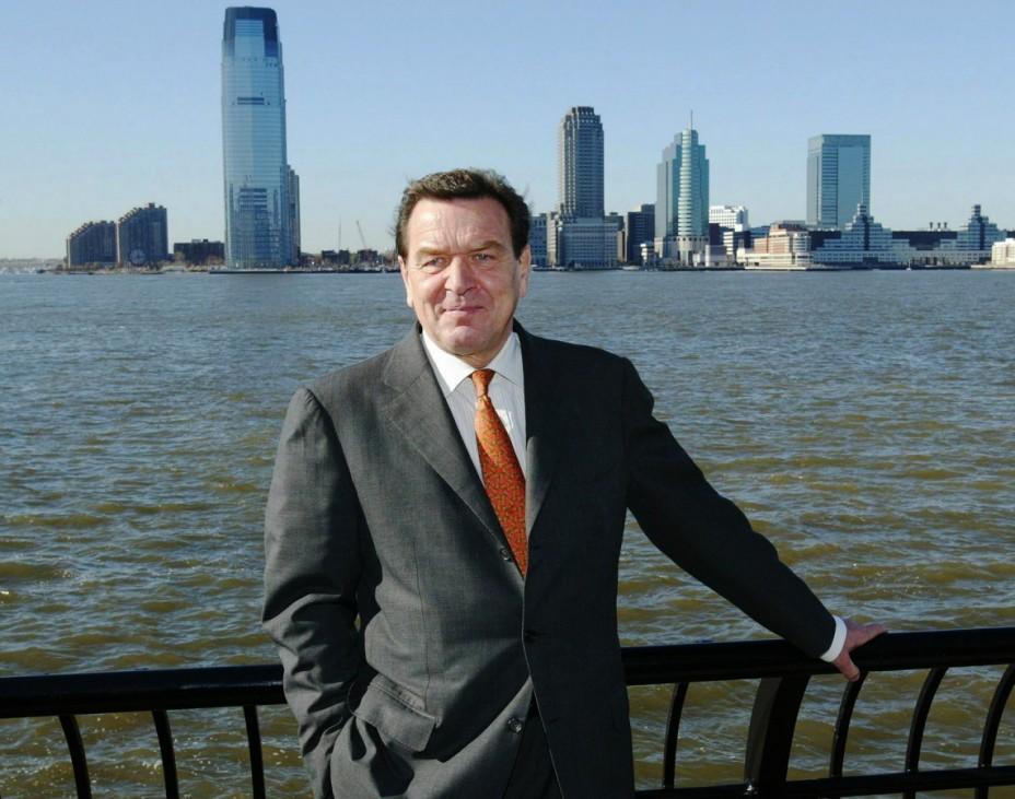 Schröder in Manhattan