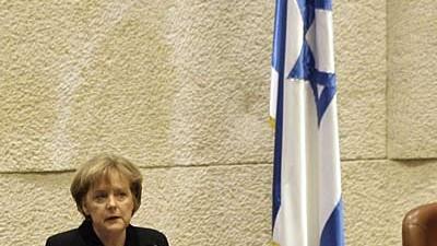 """Staatsbesuch von Kanzerlin Merkel: Merkel in der Knesset: Vollzug eines  """"Generationsbruchs""""."""