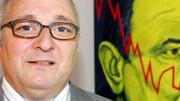 Konzernkritiker versteigert Porträt: Daimler-Kritiker Grässlin versteigert ein Porträt Schrempps auf Ebay.