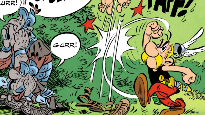 Asterix  Der Papyrus des Cäsar Egmont Comic