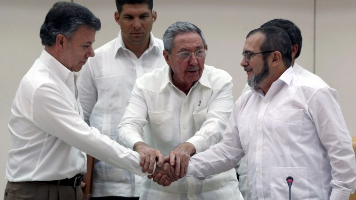 Colombia and FARC Guerrillas reach agreement in peace talks