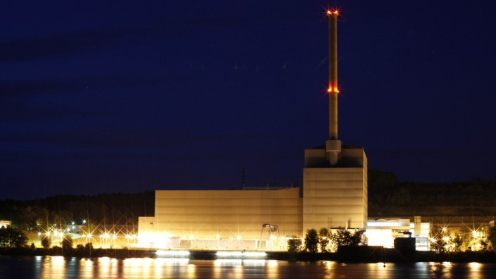 General view of the Kruemmel nuclear power plant in Geesthacht near Hamburg