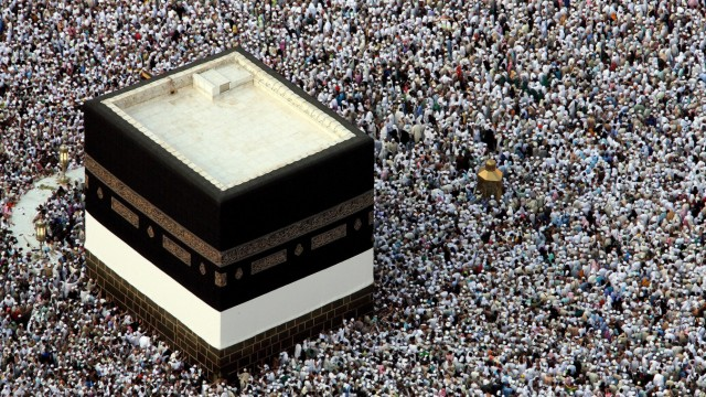 Große Moschee in Mekka - Hadsch