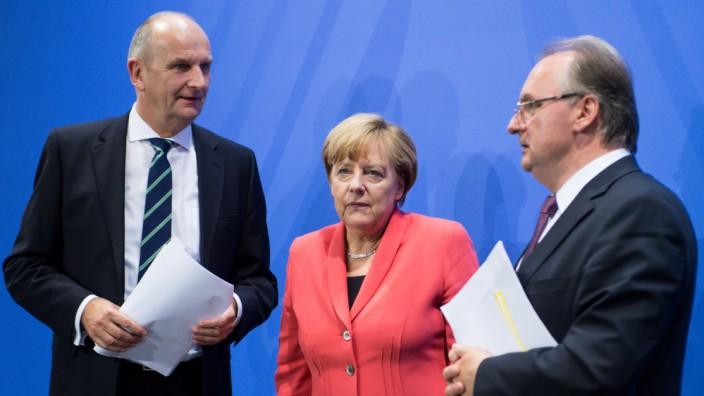 Konferenz der Länder mit Merkel zur Flüchtlingskrise