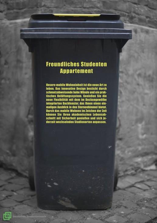 """""""Freundliches StudentenAppartement"""""""