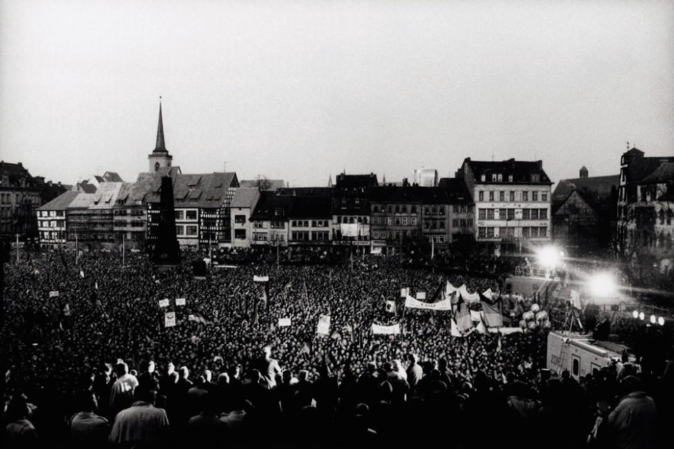 Helmut Kohl in Erfurt; Budapest-Berlin, Mein Weg zur Einheit