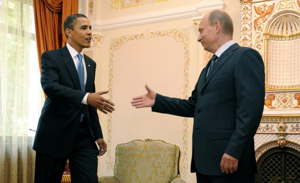 Obama trifft Putin
