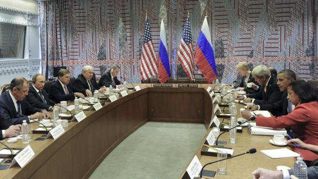 Putin meets Obama in New York