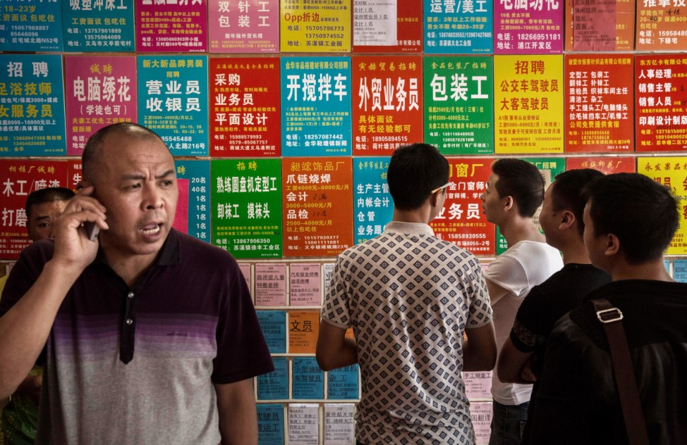 Chinese Job Seekers Struggle To Find Work In Economic Slowdown