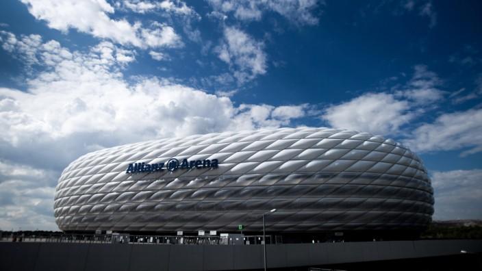 Allianz-Arena in München, eine Aufnahme von 2014