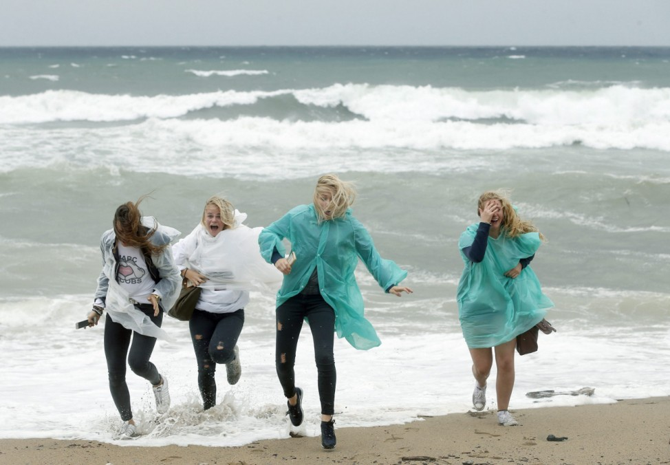 Rough weather in northeast Spain