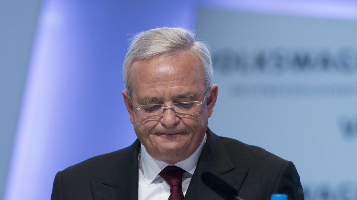Ex-VW-Chef: Wollte sich am Dienstag nicht dazu äußern, ob er seine übrigen Posten behält: Ex-VW-Chef Martin Winterkorn.