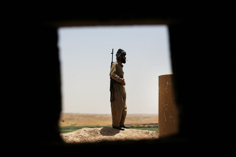 BESTPIX - Kurdish Peshmerga Keep Fragile Peace In Kirkuk