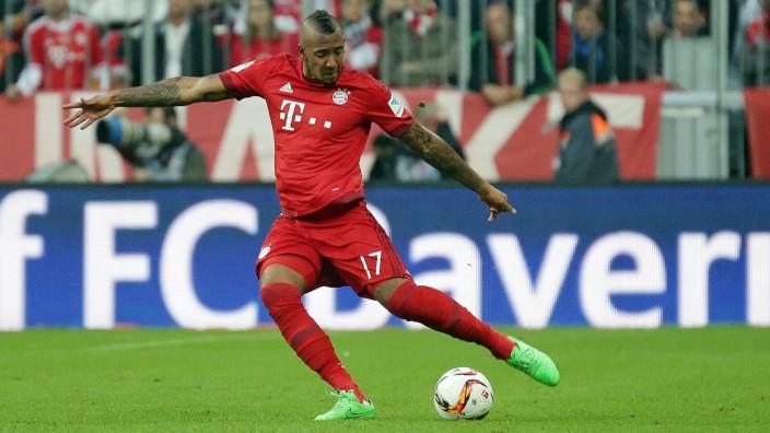 04 10 2015 xovx Fussball 1 Bundesliga FC Bayern München Borussia Dortmund emspor Jerome Boate; Jérôme Boateng