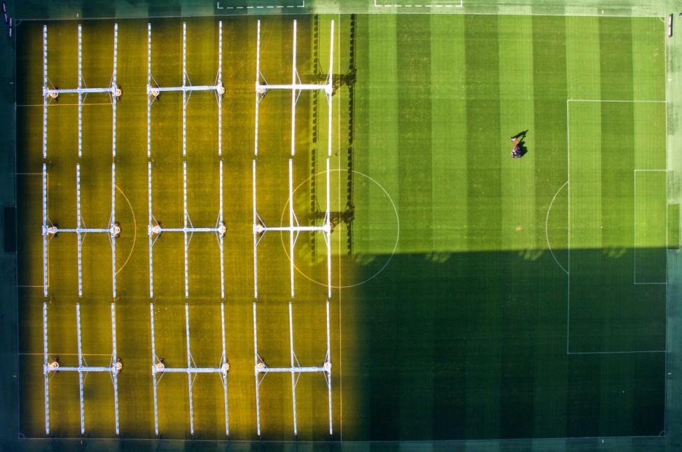 Rasenpflege Fußball-Bundesliga in Wolfsburg