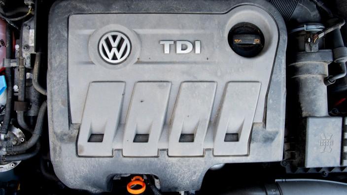 Volkswagen - Dieselmotor vom Typ EA189