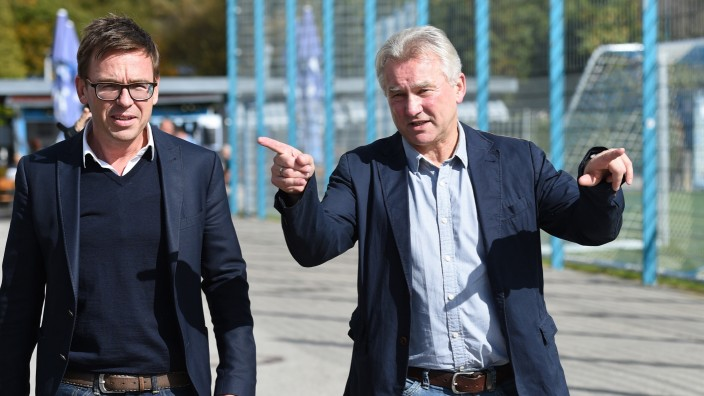 Vorstellung von Möhlmann als Löwen-Trainer