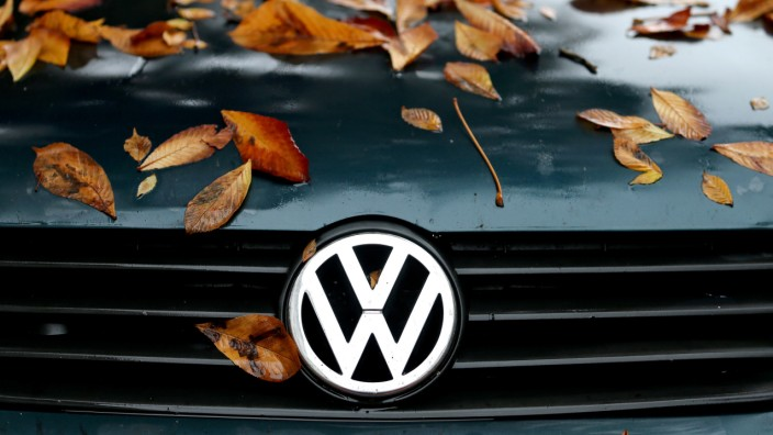 Volkswagen im Herbst