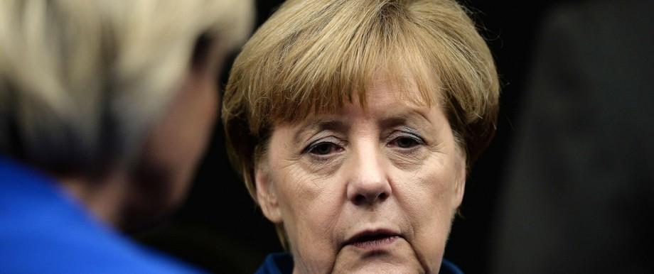 Angela Merkel Flüchtlingskrise