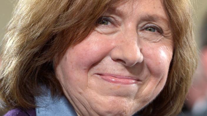 Literaturnobelpreis an Swetlana Alexijewitsch