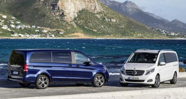 Die Mercedes V-Klasse