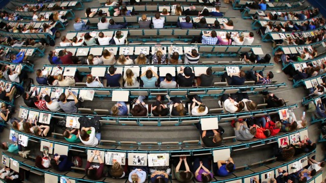 Hörsaal Gutenberg-Universität Mainz