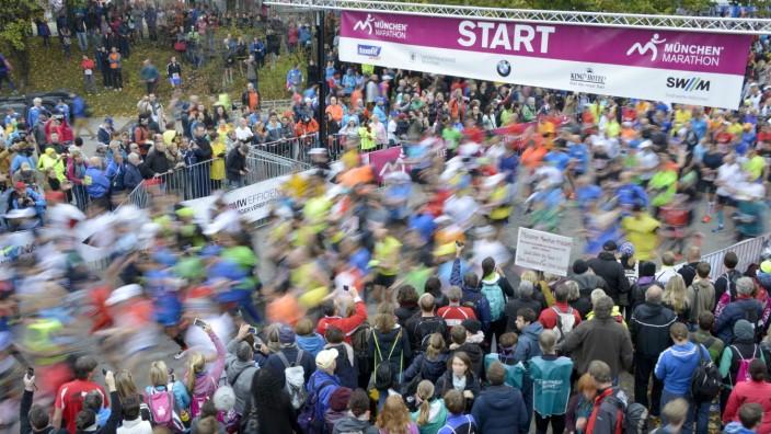 München Marathon: Der München Marathon bietet vor allem Deutschlands zweiter Reihe eine Möglichkeit, sich zu präsentieren.