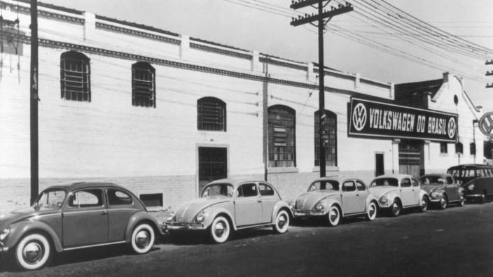 Volkswagen-Werk in Brasilien - 1953