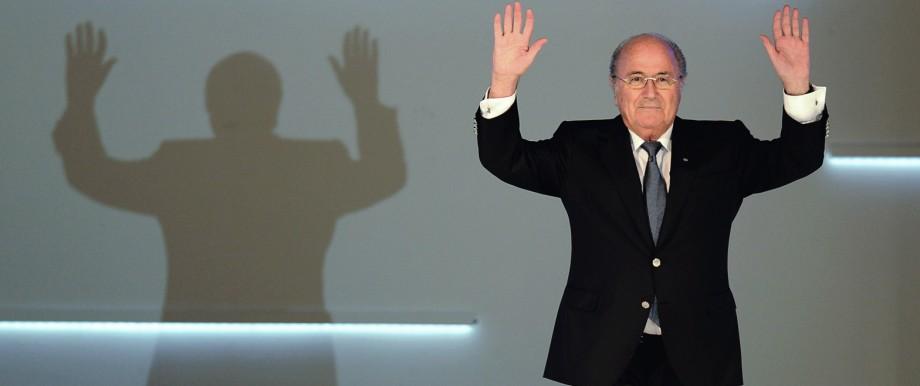 FILE - FIFA Suspend President Sepp Blatter, Michel Platini And Jerome Valcke