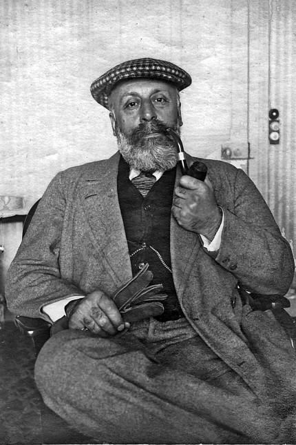 Rechtsphilosophie: Ein Porträt des Journalisten und Impresarios Gabriel Astruc aus dem August 1917.