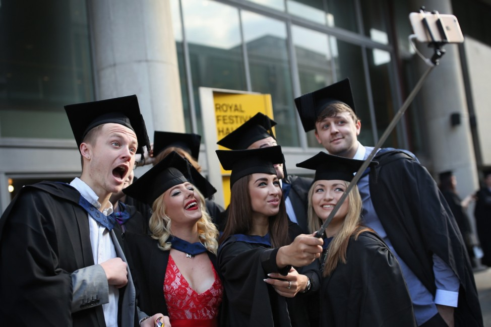 Students From The School Of Arts And Creative Industries At South Bank University Graduate