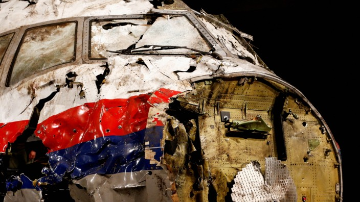 MH17-Wrack
