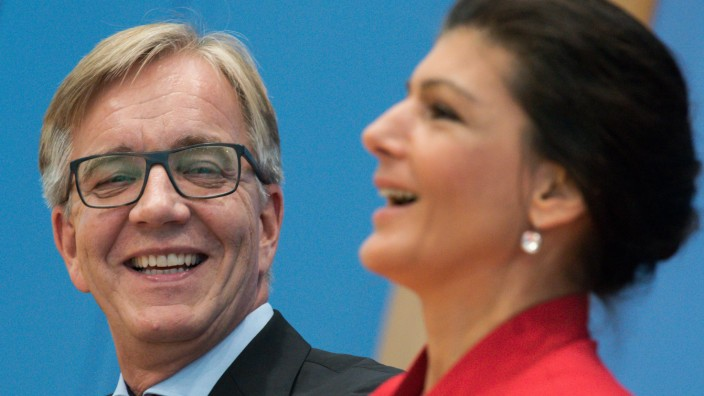 Sahra Wagenknecht und Dietmar Bartsch