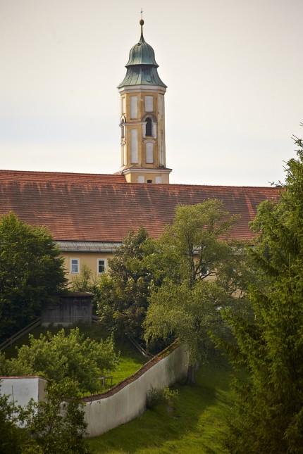 Klosterkirche Reutberg Kirchturm