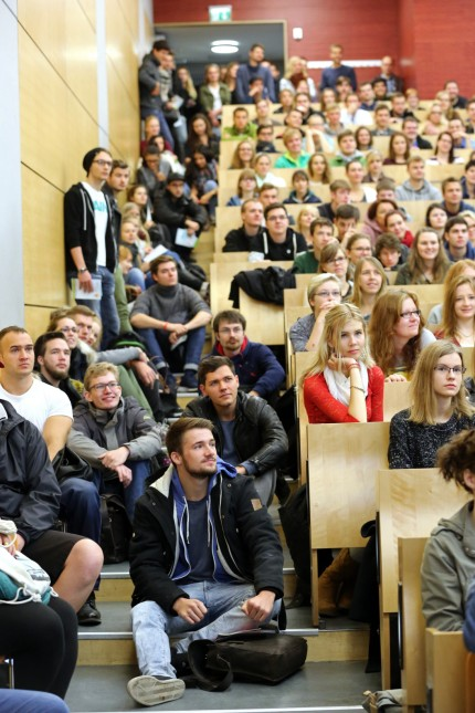 Campustag zur Begrüßung der Erstsemester