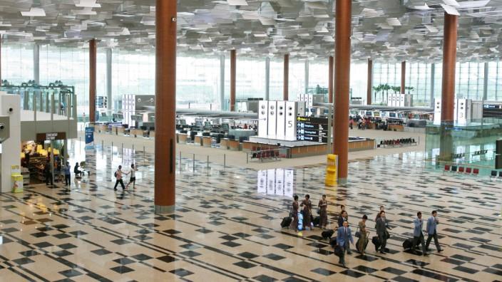 Changi-Flughafen in Singapur eröffnet drittes Terminal