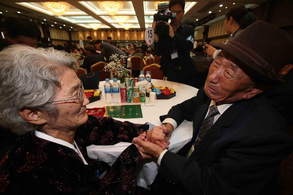 South and North Korea Families Reunite - Day 1