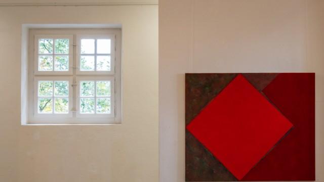 Malerei im Quadrat