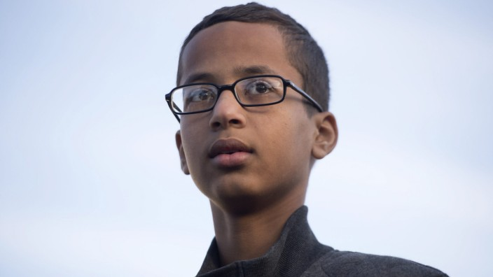 Ahmed Mohamed, a 14-year-old student from Irving, Texas