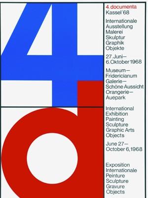 plakat documenta essen ausstellung