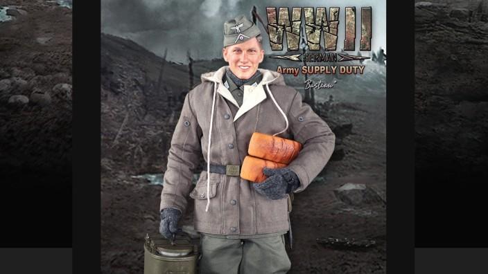 Bastian Schweinsteiger Soldat Puppe