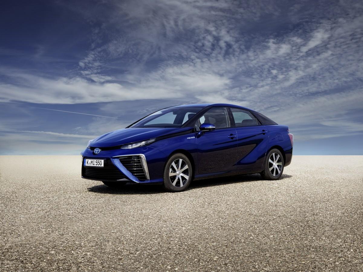 Wasserstoff Toyota Mirai: stetig steigende Stückzahl