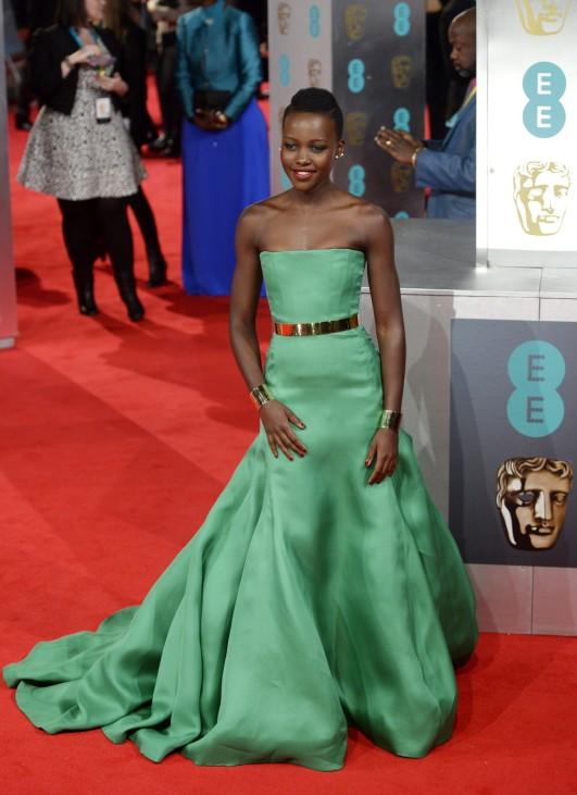 EE British Academy Film Awards 2014 - Arrivals; Lupita Nyong'o BAFTA 2014
