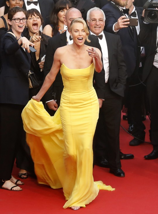 Mad Max: Fury Road Premiere - 68th Cannes Film Festival; Charlize Theron Cannes 2015