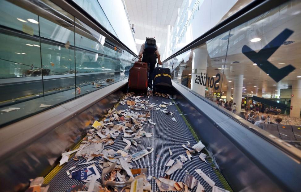 Cleaners' Strike in Barcelona
