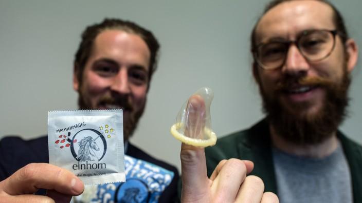Kondom-Hersteller streiten vor Gericht um Verpackungsangabe