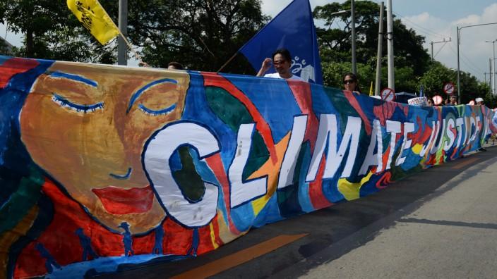 Proteste auf den Philippinen gegen den Klimawandel